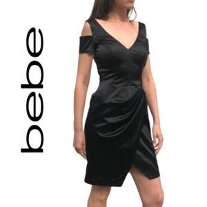 bebe- Cold Shoulder Dress